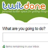 Twitdone, lista de tareas desde Twitter