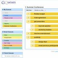 GQueues, listas de tareas a lo Google