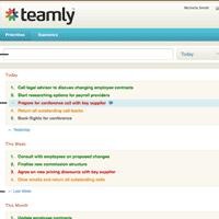 Teamly, gestión de prioridades